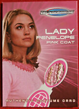 THUNDERBIRDS THE MOVIE COSTUME CARD TC2 LADY PENELOPE'S PINK COAT - Cards Inc.