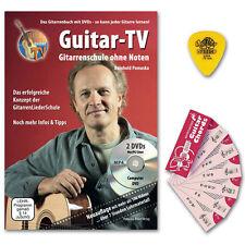 Reinhold Pomaska Guitar-TV: Gitarrenschule ohne Noten - PLEKTRUM, Notenchecker