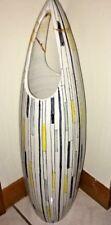"Vintage Bitossi Londi Raymor Italy 22"" H Geometric Vase 1950s large rare vhtf mc"