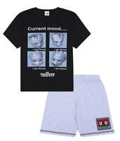 Men's Guardians Of The Galaxy Groot Cotton SHORT Pyjamas Sizes M to 3XL Mens Pjs