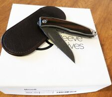 CHRIS REEVE New Macassar Ebony Mnandi Raindrop Damascus Blade Knife/Knives