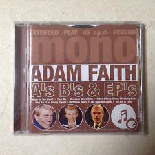 FAITH, ADAM - As Bs AND EPs BRAND NEW CD