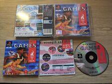 OLYMPIC GAMES Atlanta 1996 (Sony PlayStation 1, One, PS1, PSOne)