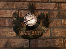 World of Warcraft Exclusive wall clock made of vinyl record