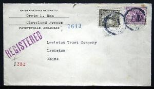 Housse - Enregistrée Fayetteville Ark To Lewiston Trust Co , Me 1934 S279