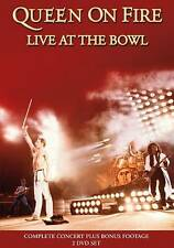 Queen: On Fire - Live at the Bowl (DVD, 2013, 2-Disc Set)