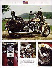 1988 Harley Davidson FLSTC Heritage Softail Motorcycle Article - Must See !!