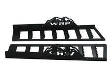 WRP Mountain Tuff Running Boards 2000-06 Arctic Cat 1M, Black Powder Coat