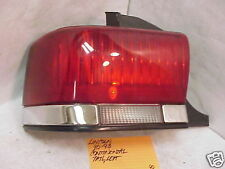 LINCOLN CONTINENTAL 90-93 1990-1993 TAIL LIGHT DRIVER LH LEFT OE
