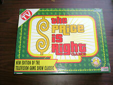 THE PRICE IS RIGHT GAME NEW - 1998  CARD GAME - AS SEEN ON TV - RARE