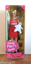 1998 Coca Cola Party Barbie Nrfb (Z140) Please See Pictures