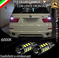LAMPADE RETROMARCIA 13 LED T15 W16W CANBUS BMW X5 E70 6000K NO ERROR