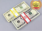 THE BEST PROP MONEY $1,500 NEW STYLE $10 & $5 Full Print Stack for Movie & TV