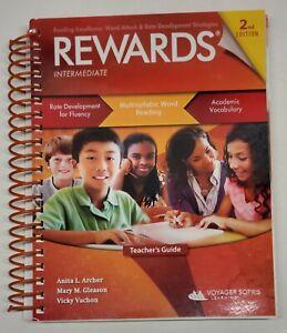 REWARDS; Multisyllabic Word Reading Strategies; Teacher's Guide, 2nd Edition