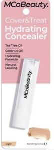 """MCoBeauty ~ COVER & TREAT ~ HYDRATING CONCEALER ~ """"LIGHT"""" ~ NIP ~ RRP $16"""