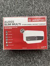 ARISTON Aures Slim Multi Point Electric Instant Water Heater 9.5KW Slim Design