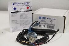 Ecco 9012B Wide Hide A LED Blue Lens 12-24VDC + Free Priority Shipping!!!