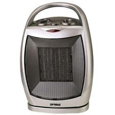 Space Heater Electric Small Portable Ceramic Room Bedroom Compact Indoor 1500W