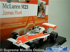 JAMES HUNT MCLAREN M23 CAR MODEL FORMULA 1 RACING 1:43 SIZE 1976 ONE T34Z