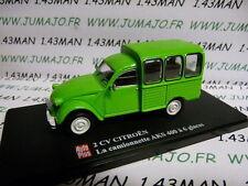 voiture 1/43 ELIGOR Autoplus CITROËN 2CV n°23 Camionette AKS à 6 glaces