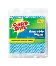 NEW! SCOTCH-BRITE Kitchen Wipe Cleaning Cloth 9053 5-Pack!!