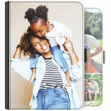 Personalised Case, PU Leather Flip Cover For Apple Ipad - Custom Photo/Collage