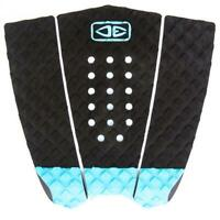Ocean And Earth 3 Piece Traction Surfboard Grip Simple Jack Tail Pad Black/Blue