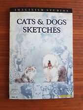 Cats & Dogs sketches by Bobby Chiu. ILLUSTRATION BOOK Imaginism Studios