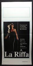LOCANDINA CINEMA - LA RIFFA - MONICA BELLUCCI - 1991 - DRAMMATICO