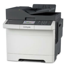 LEXMARK CX510DE - Network ready; Print, copy, scan, fax; Duplex print; Print up