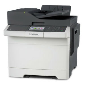 LEXMARK CX510DE PRINTER  Network ready; Print, copy, scan, fax; Duplex print;