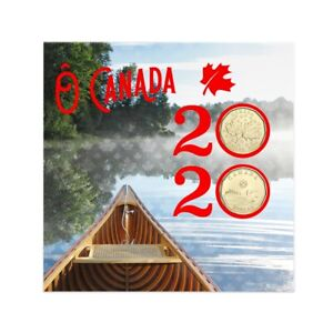 2020 O Canada Gift Set of Coins