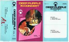 Deep Purple - In Concert. Vol. 1 - IMD 7141 - Muy raro - Cassette