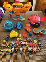 Octonauts Toy Bundle - Octopod Gups Figures Creatures Accessories CBeebies A