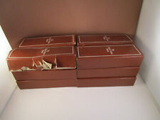 Vintage Franklin Mint Charles Dickens Painted 12 Spoon Collector's Set
