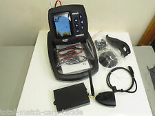 Bait BOAT WIRELESS FISH FINDER - 300 m Gamma, COLORATI CON SCHERMO LCD
