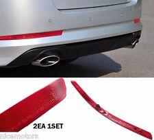 Bumper Reflector Cover Pair Genuine Parts (Fit: KIA OPTIMA K5 2011 2015)