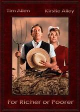 FOR RICHER OR POORER Movie POSTER 27x40 B Tim Allen Kirstie Alley Wayne Knight