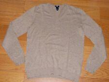 Pull Beige H&M Taille S (voir M) col en V