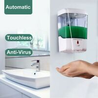 700ML Seifenspender Desinfektionsmittel Automatisch Sensor Infrarot Wandmontage