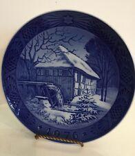 Royal Copenhagen Decorative Plate Vibaek Water - Mill 1976
