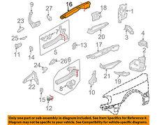 AUDI OEM 98-04 A6 Quattro Fender-Filler Plate Right 4B0805204B
