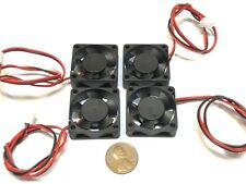 4 Pieces 3010 24V Cooler extruder DC Fan 30 x 10mm Mini Cooling 3d printer A4