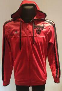 Chicago Bulls Jacke, Adidas  Basketball, Michael Jordan, Kaputten Jacke, Gr.L