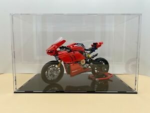 4mm thick Acrylic large display case for Lego 42107 Ducati Panigale  Motorbike