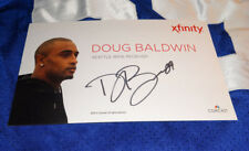 2014 Seattle Seahawks DOUG BALDWIN Signed Promo Flat Football NFL Picture