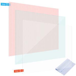 Display Schutz Folie für Tablet bis 10 Zoll Schutzfolie 2x klar Displayschutz
