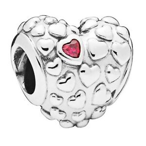 Genuine PANDORA Mum In A Million Heart 797781CZR Charm S925 ALE Bead NEW
