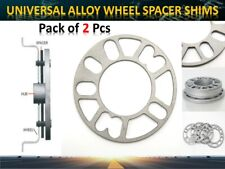 2PCS 8mm Vehicle Alloy Wheel Shims Universal Spacers 4&5 Stud fit 98 to 120 mm