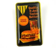 Coca-Cola Coke USA Lapel Pin Button Badge Anstecknadel - Burger King Hamburger